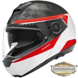 Schuberth C4 Pro Carbon Delta White