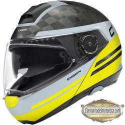 Schuberth C4 Pro Carbon Tempest Matt Yellow