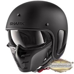 Shark S Drak Matt Black