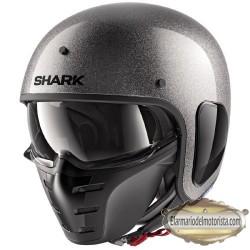 Shark S Drak Glitter Silver