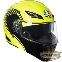 Agv Compact St Vermont Yellow Fluo