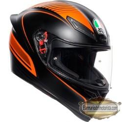Agv K1 Warmup Black Orange