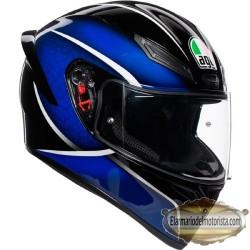 Agv K1 Qualify Black Blue